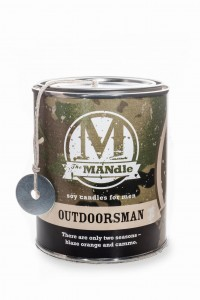 Eco Candle Co.  OUTDOORSMAN Świeca The MANdle
