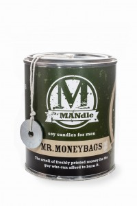 Eco Candle Co.  MR. MONEYBAGS Świeca The MANdle