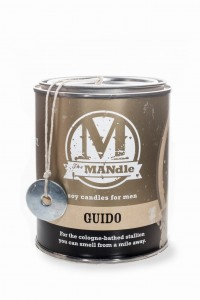 Eco Candle Co.  GUIDO Świeca The MANdle