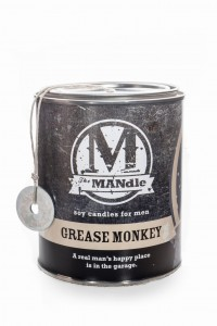 Eco Candle Co.  GREASE MONKEY Świeca The MANdle