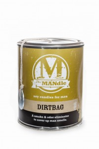 Eco Candle Co.  DIRTBAG Świeca The MANdle