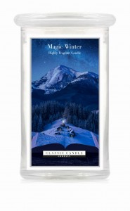 Classic Candle MAGIC WINTER 2 Wick Large Jar