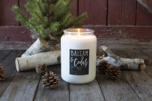 Milkhouse Candles BALSAM & CEDAR Farmhouse Jar