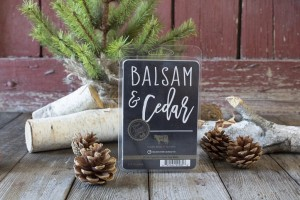 Milkhouse Candles BALSAM & CEDAR Wosk