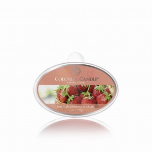 Colonial Candle Simmer Fresh Strawberry Rhubarb