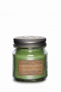Eco Candle Co. CARAMEL APPLE Świeca Retro Mason