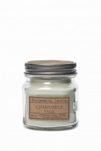 Eco Candle Co. CHAMOMILE SAGE Świeca Retro Mason