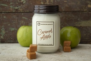 Milkhouse Candles CARAMEL APPLE LE Mason