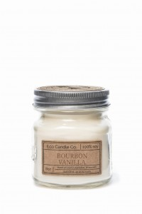Eco Candle Co. BOURBON VANILLA Świeca Retro Mason
