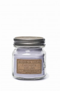 Eco Candle Co. LAVENDER DREAMS Świeca Retro Mason