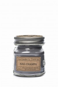 Eco Candle Co. NAG CHAMPA Świeca Retro Mason