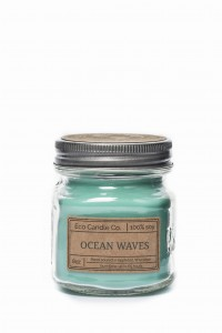 Eco Candle Co. OCEAN WAVES Świeca Retro Mason