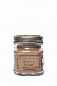 Eco Candle Co. PRECIOUS WOODS Świeca Retro Mason