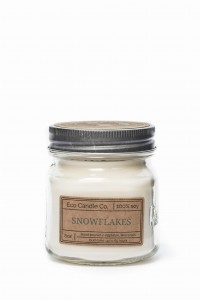 Eco Candle Co. SNOWFLAKES Świeca Retro Mason