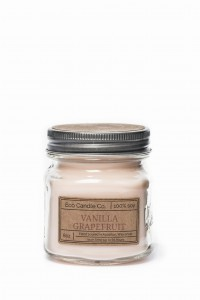Eco Candle Co. VANILLA GRAPEFRUIT Świeca Retro Mason