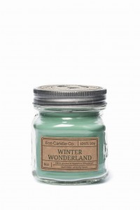 Eco Candle Co. WINTER WONDERLAND Świeca Retro Mason