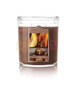 Colonial Candle Large Jar ROASTED CHESTNUTS