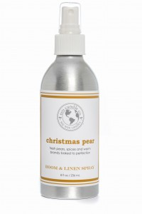 Eco Candle Co. CHRISTMAS PEAR Room & Linen Spray
