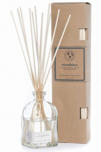 Eco Candle Co. SNOWFLAKES Reed Diffuser