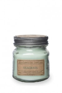 Eco Candle Co. SEAGRASS Świeca Retro Mason