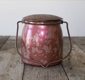 Milkhouse Candles BROWN BUTTER PUMPKIN Painted Jar