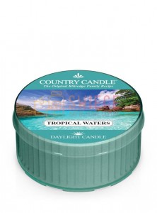 Country Candle TROPICAL WATERS DayLights
