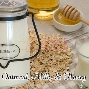 Milkhouse Candles OATMEAL, MILK & HONEY Świeca Duża