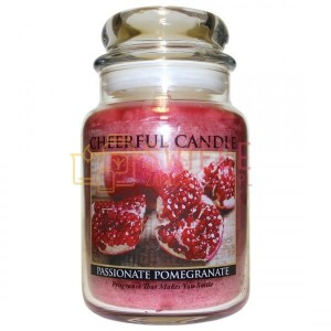 Cheerful Candle Passionate Pomegranate Słoik Duży