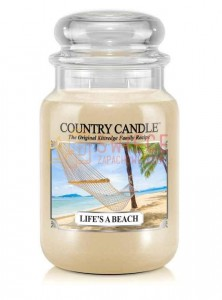 Country Candle LIFE S A BEACH Świeca Duża