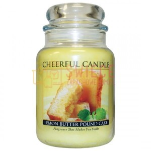 Cheerful Candle Lemon Butter Pound Cake Świeca Duża