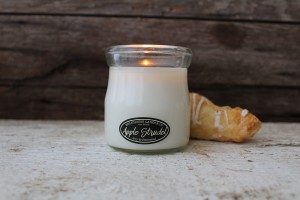 Milkhouse Candles APPLE STRUDEL Cream Jar