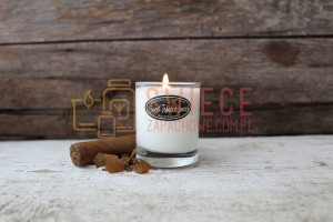 Milkhouse Candles SWEET TOBACCO LEAVES Shot