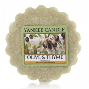 Yankee Candle Olive & Thyme Wosk