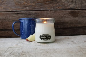 Milkhouse Candles MULLED CIDER Cream Jar