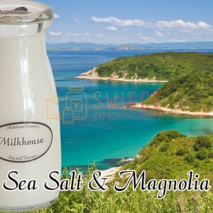 Milkhouse Candles Sea Salt & Magnolia Milk Bottle