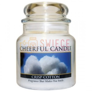 Cheerful Candle CRISP COTTON Świeca Średnia