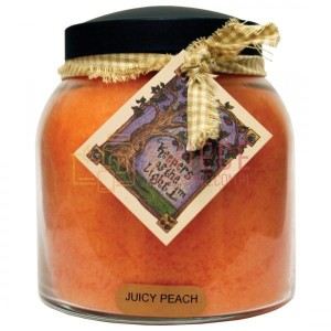Cheerful Candle JUICY PEACH Świeca Duża Papa