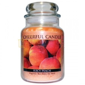 Cheerful Candle Juicy Peach Świeca Duża