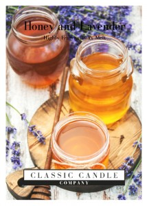 Classic Candle HONEY & LAVENDER Wax Melt