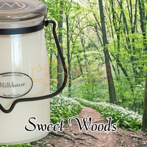 Milkhouse Candles SWEET WOODS Świeca Duża