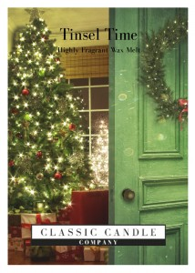 Classic Candle TINSEL TIME Wax Melt