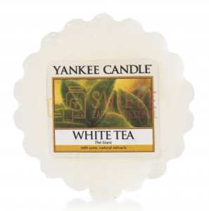Yankee Candle White Tea Wosk
