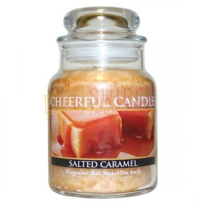 Cheerful Candle Salted Caramel Świeca Mała