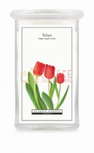 Classic Candle TULIPS  2 Wick Large Jar