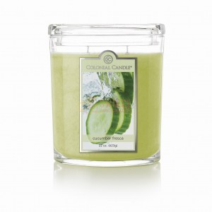 Colonial Candle Large Jar CUCUMBER FRESCA