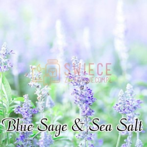 Milkhouse Candles BLUE SAGE & SEA SALT Wosk