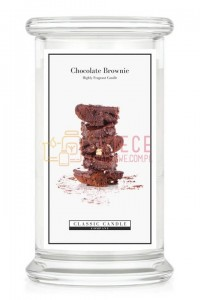 Classic Candle CHOCOLATE BROWNIE Large Jar