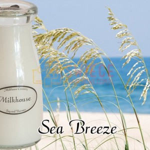 Milkhouse Candles Sea Breeze Milk Bottle