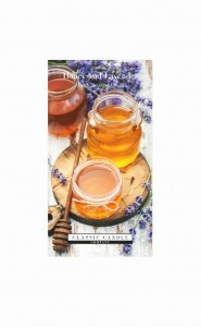 Classic Candle HONEY & LAVENDER 2 Wick Large Jar
