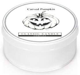 Classic Candle CARVED PUMPKIN MiniLight